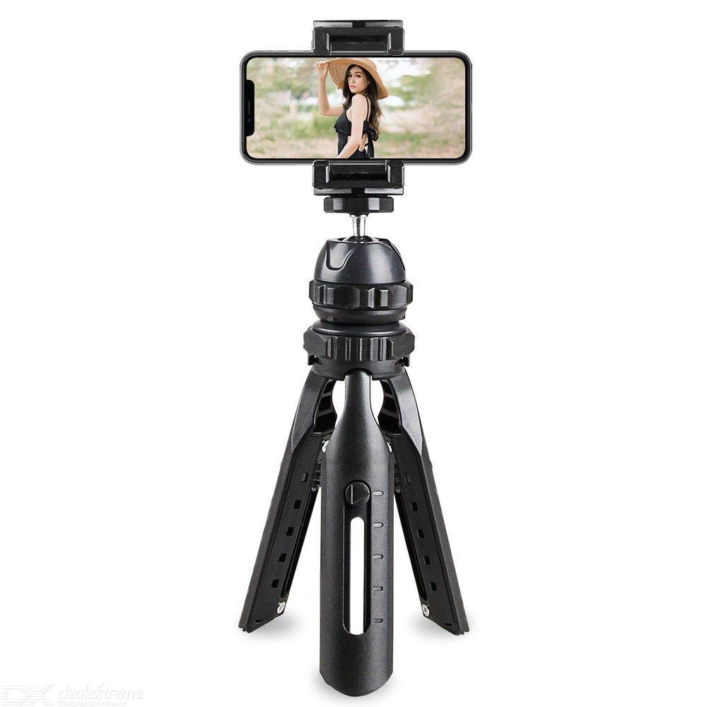 Mobile phone tripod desktop stand telescopic tripod stable photo taking and video multi-functional stand