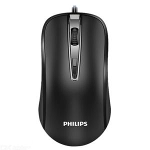 PHILIPS SPK7214 Wired Mouse USB Optical Mice For Game Office