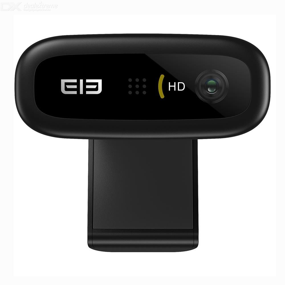 Elepho 1080P HD Webcam 5.0 Mega Pixels Auto Focus Built-in Microphone For PC Laptop Tablet TV Online Course Studying Conference