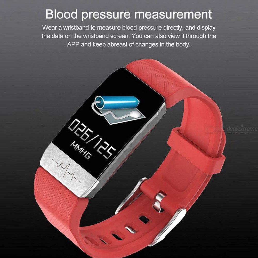 New type t1s ECG and body temperature intelligent watch ECG + PPG monitoring multi-functional blood pressure, heart rate and ECG