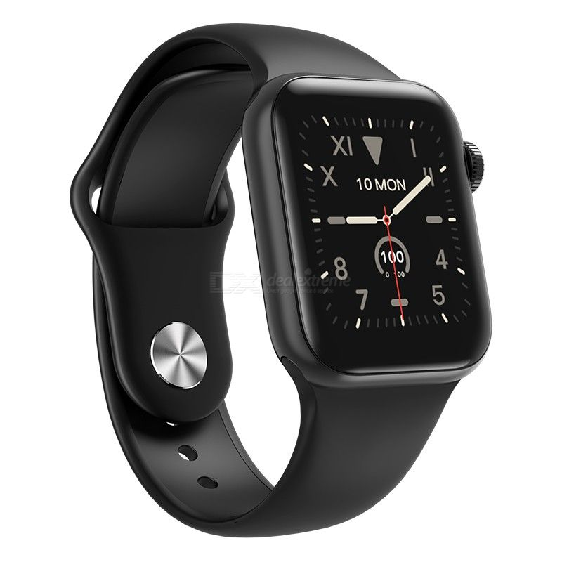 New w58pro smart watch bracelet can monitor body temperature, heart rate, blood pressure and blood oxygen meter step information