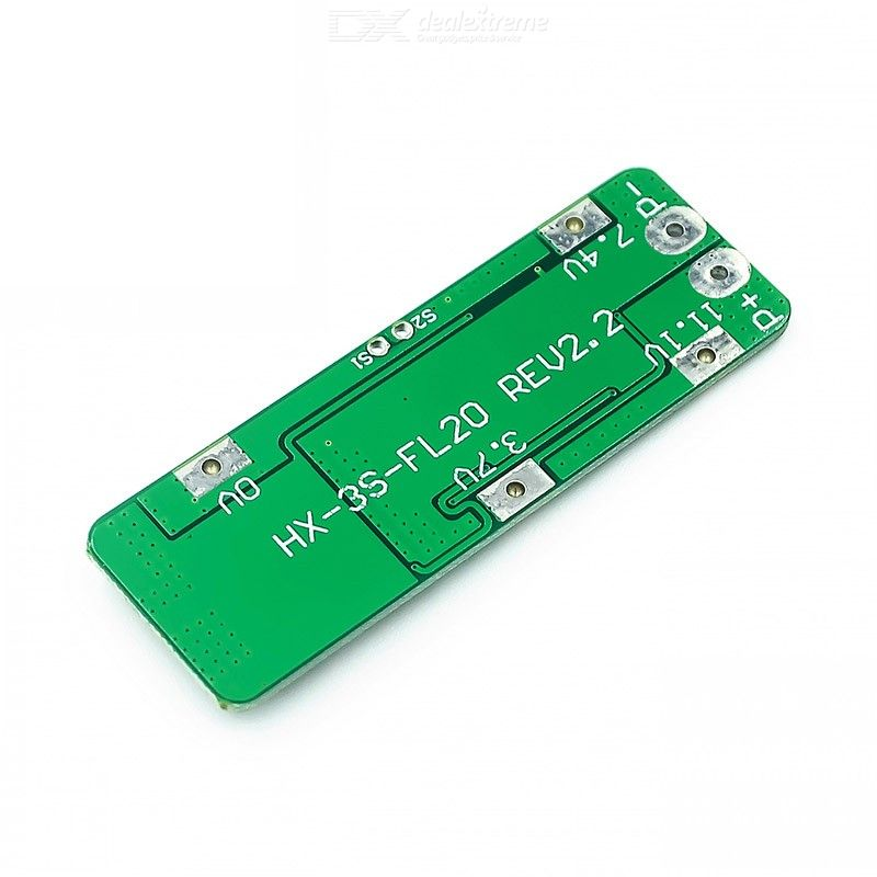 3 Series 11.1V 12V 12.6V 18650 Lithium Battery Protection Plate 20A Starting Current drill