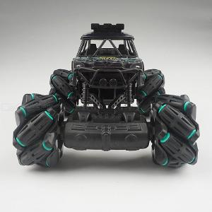 3855 2.4G 4WD Bigfoot RC Stunt Car High Speed Drift Car Model Vechile 360 Degree Rotation Toys for Kids Gift