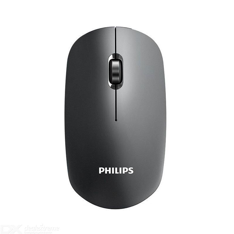 PHILIPS SPK7315 Wireless Mouse Ergonomic Optical Mice With 1600 DPI For Office