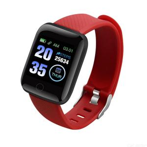 116plus intelligent Bracelet D13 1.3 color screen to measure heart rate and blood pressure IP67 dustproof and waterproof fashion