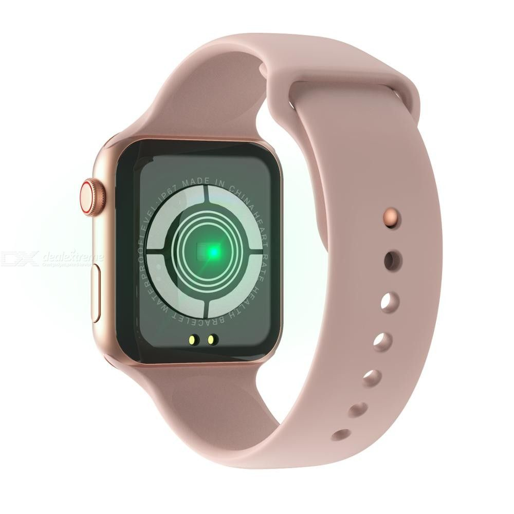 Smart Watch Full Touch Screen Heart Rate Blood Pressure Bluetooth Sports Tracker Fitness Watches For Android IOS PK W34 T68