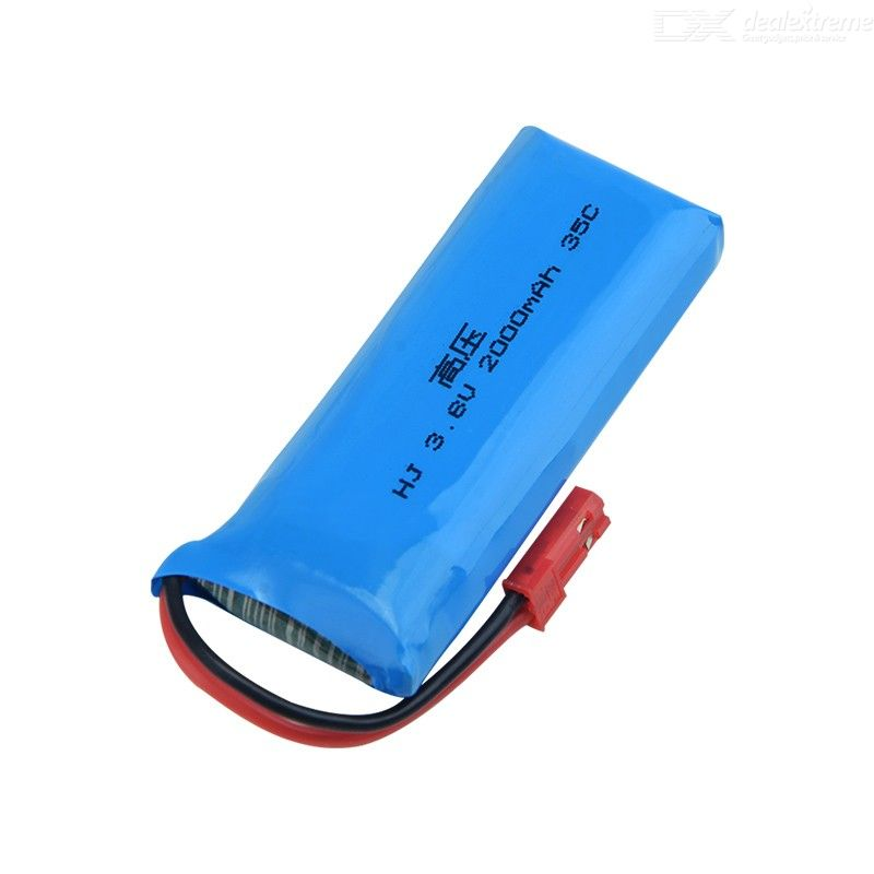 3.8V 2000mAh 35C high voltage lithium battery for aircraft model crossing locomotive model ship model plug can be customized