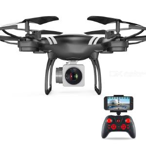 KY101 RC Drone With HD Camera WiFi Live Quadcopter With Altitude Hold 360 Degree Flip Trajectory Flight