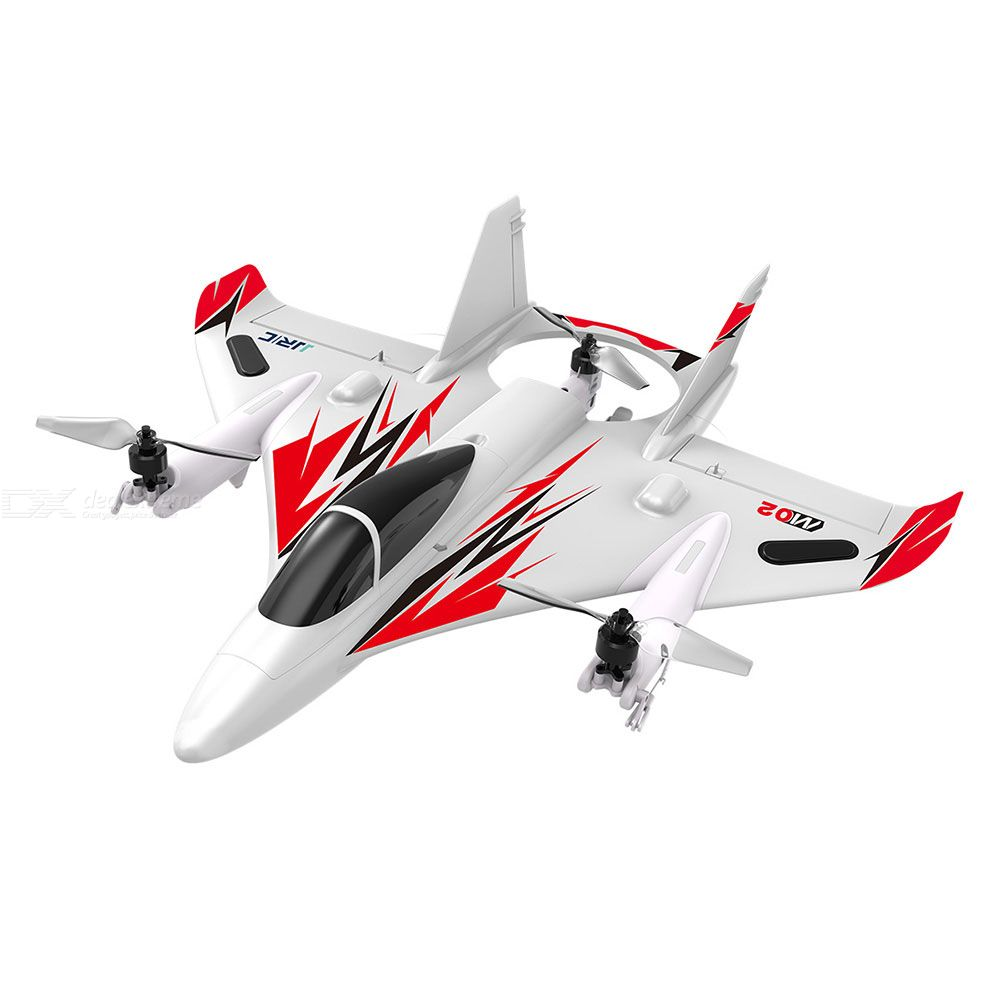 RC Plane 6CH Remote Control Stunt Airplane With Multirotor Flight Vertical Flight Horizontal Airplane Flight Stunt Flight