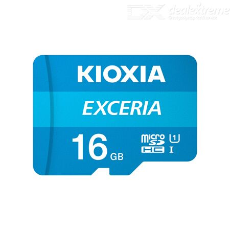 Kioxia EXCERIA Micro SDHC Memory Card U1 With 100MB/s Read Speed