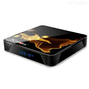 X99 MAX + S905X3 Android 9.0 Smart TV Device 4GB 64GB WiFi 1000M Media Player 8K Video Decoding Gigabit Port In Learning Functio