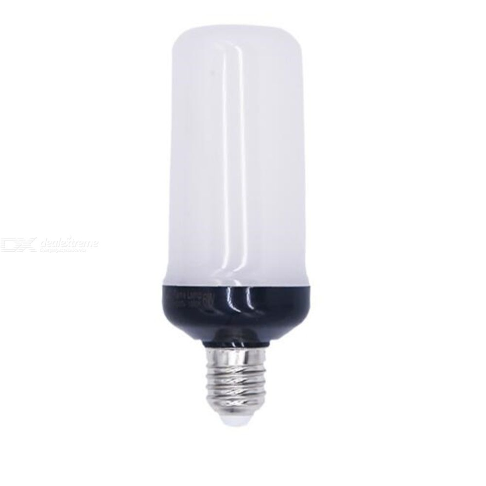 2PCS LED Flame Effect Light Bulb Vintage Flame Bulb With 4 Modes For Atmosphere Festival Christmas Decoration