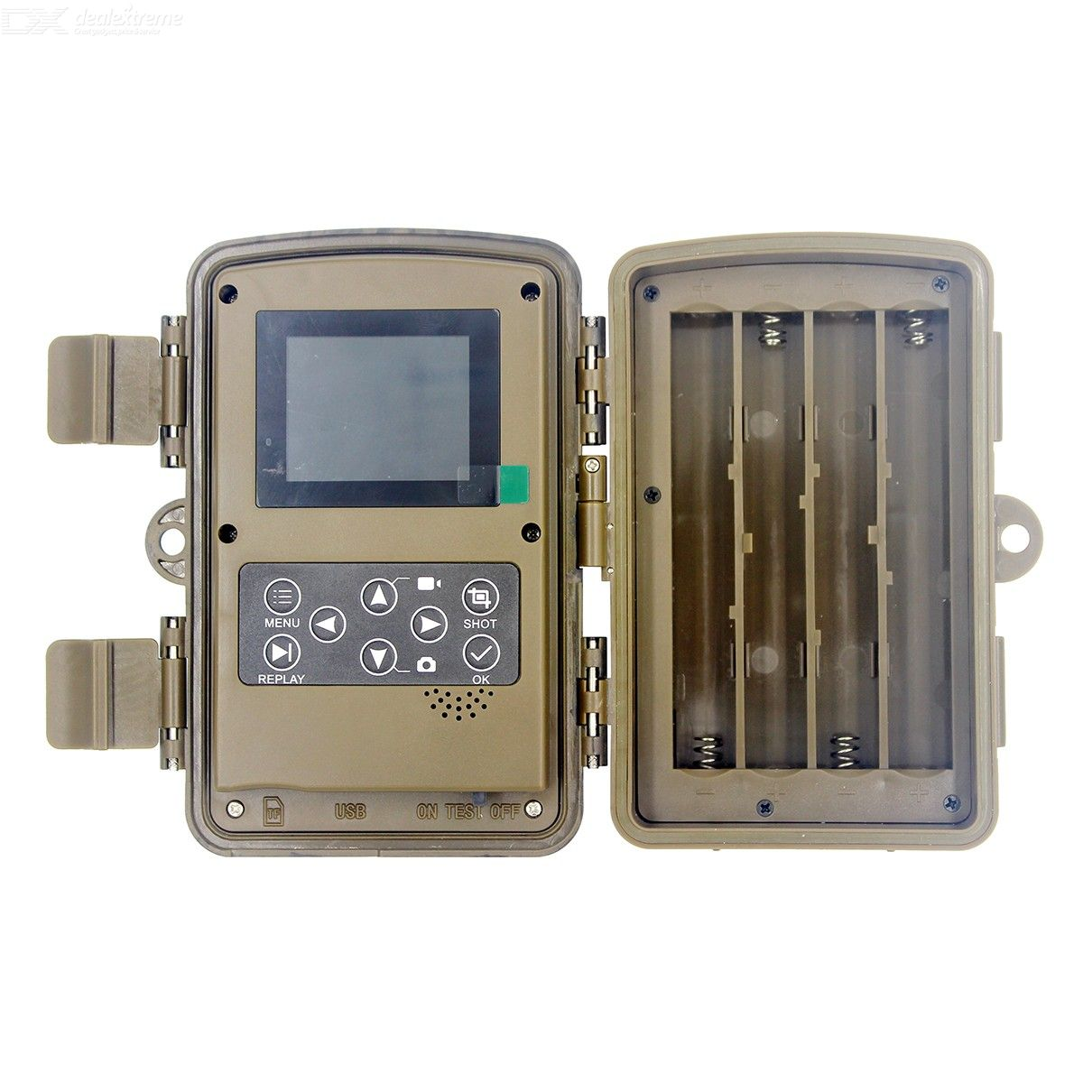 200W 1080p wide angle hunting camera with TFT display