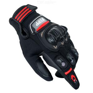 Touch Screen Motorcycle Full Finger Gloves Wateproof Protective Gloves For Cycling Riding Climbing