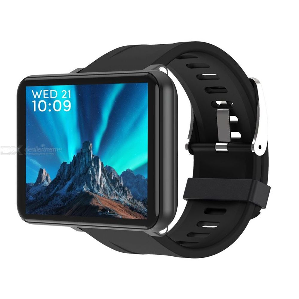LEMFO LEM T Smart Phone Watch 2.8 Inch Large Screen 4G Fitness Tracker Watch With Heart Rate Monitor 3GB 16GB