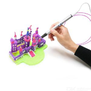 RP900A 3D Printing Pen With OLED Screen Compatible With 1.78mm PLA ABS - EU Plug