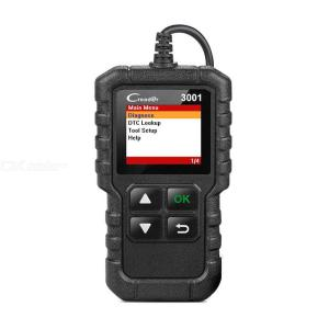 LAUNCH X431 CR3001 Full OBD2 Scanner OBD 2 Engine Code Reader Creader 3001 Car Diagnostic Tool