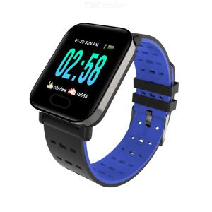 A6 Smart Watch 1.3 Inch Fitness Tracker Watch Waterproof Activity Tracking Device With Step Counter Sleep Monitor IP67
