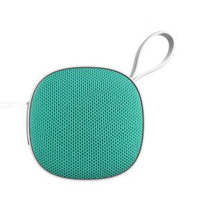 Portable Bluetooth Speaker Mini Compact Cloth Subwoofer With Lanyard