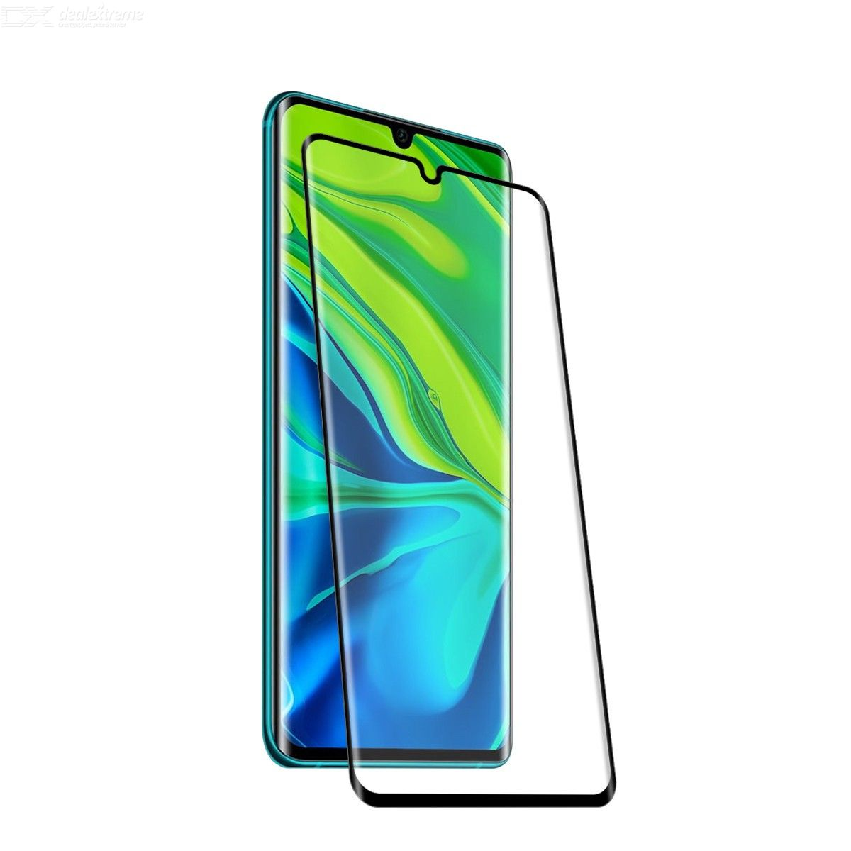 ENKAY Hat-Prince For XIAOMI Note 10 / Note 10 Pro / CC9 Pro 0.26mm 9H 3D Full Glue Explosion-proof Full Screen Curved Heat Ben