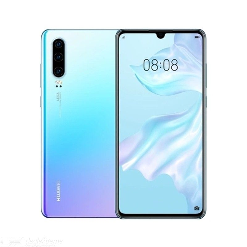 Global Version HUAWEI P30 Mobile Phone 6.1inch 8GB RAM 256GB ROM 40MP+32MP Android 9.0 Kirin 980 Octa Core 3650mAh In-screen Fin