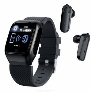 S300 Smartwatch + Bluetooth Earphones 2-in-1 Sports Smart Watch With Wireless Earbuds Bundle Works With Android IOS