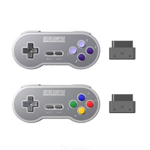 Wireless Game Controller 2.4Ghz Retro Gamepad For SNES SFC Console