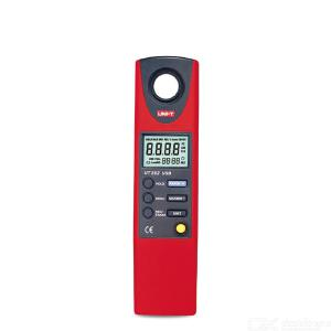 UNI-T UT381/382 Digital Illuminance Meter Handheld 0-20000LUX USB Data Transfer Multifunction 8-bit Microprocessor