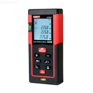 UNI-T UT391/390B Handheld Laser Rangefinder 60m/40m 300g 3V High Precision Waterproof Optical Lens