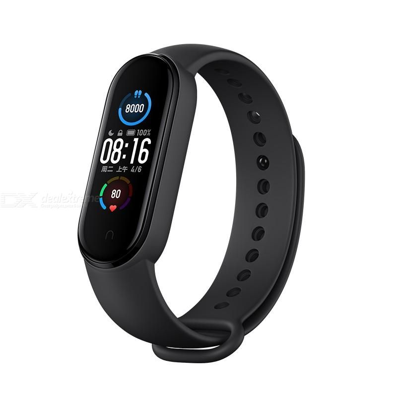 Xiaomi Mi Smart Band 5 Smart Watch Sports Bracelet Dynamic Color AMOLED Screen 11 Sports Modes - International Version