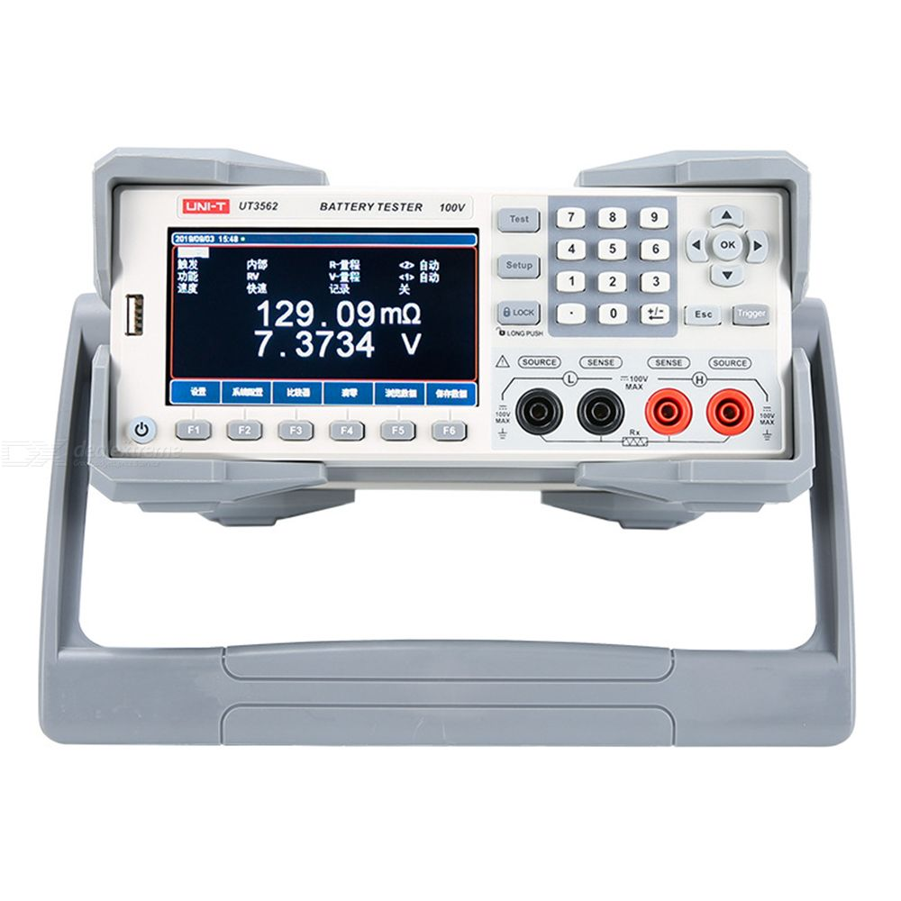 UNI-T UT3562 Battery Internal Resistance Tester 110-240V High Precision High Resolution  Database Function