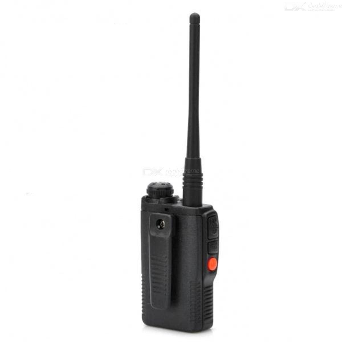 BAOFENG UV-3R 1.4quot LCD 2W 136174 / 400470MHz Dual Band Walkie Talkie - Black