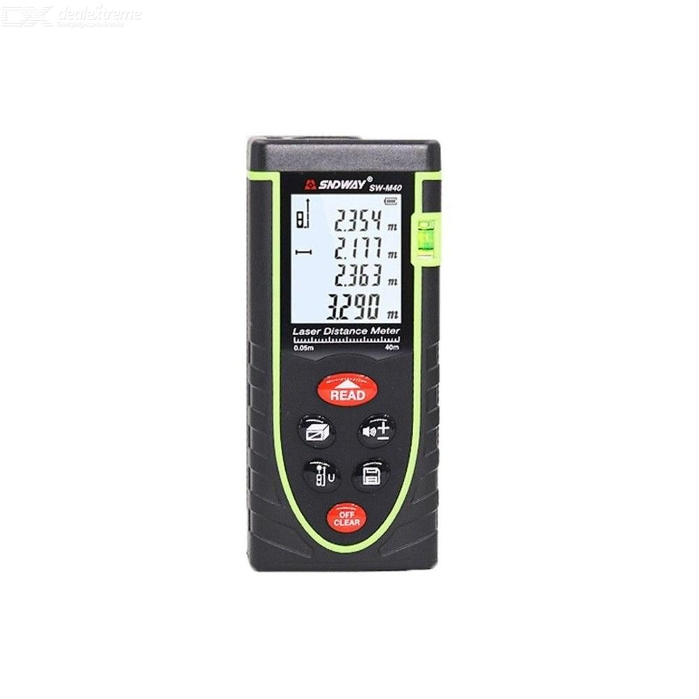 NDWAY 50m 60m 80m 100m Handheld Laser Range Finder Infrared Measuring Instrument Laser Electronic Ruler Distance Meter