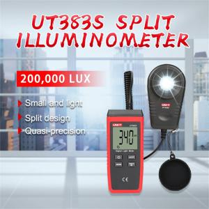 UNI-T UT383S Split Illuminometer High-precision Light Tester Digital Lux Meters Environmental Measurement