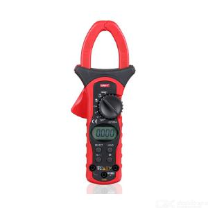 UNI-T UT205A/UT206A Digital Clamp Multimeter 1000A Auto Range Meter For Diode Volt Current Resistance LCD Display