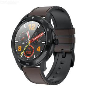 LEMFO DT98 Digital Round Dial Watch For Business Multifunctional Electronic Bracelet With Bluetooth Health Monitoring Wristwatch