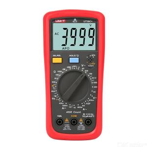 UNI-T UT39A+/ UT39C+ Smart Multimeter Capacitance Temperature Meter NCV Detection Fuselage Protection