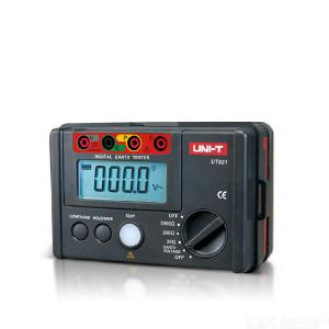 UNI-T UT521/UT522 Digital  Resistance Tester Earth Ground Resistance Meter 0-40/400/4000Ω Double Insulation Protection