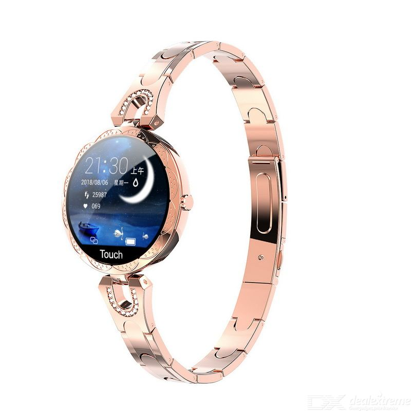 LEMFO AK15 Smart Watch Waterproof LCD Color Screen 1.08 Inch Sport For Women