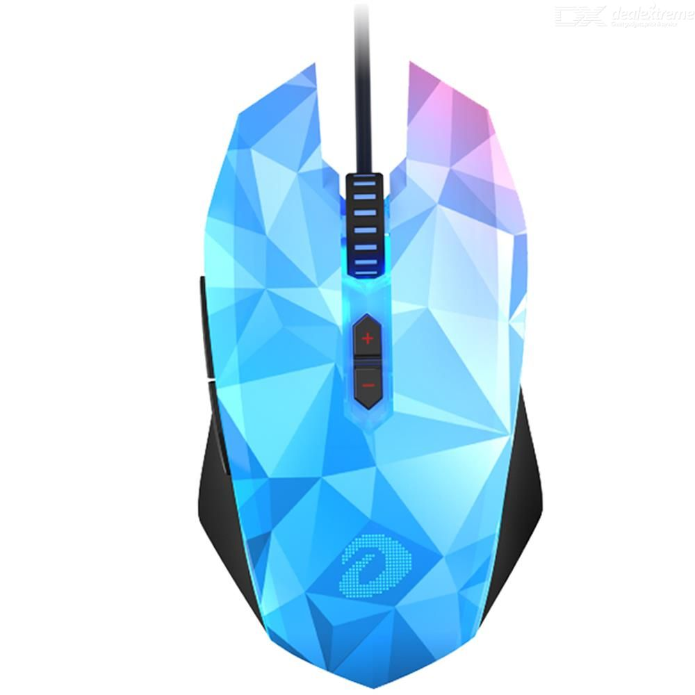 Dareu CM635 Professional Gaming Mouse Wired RGB LED Mice Mini Gaming Sets Diamond Version Mouse