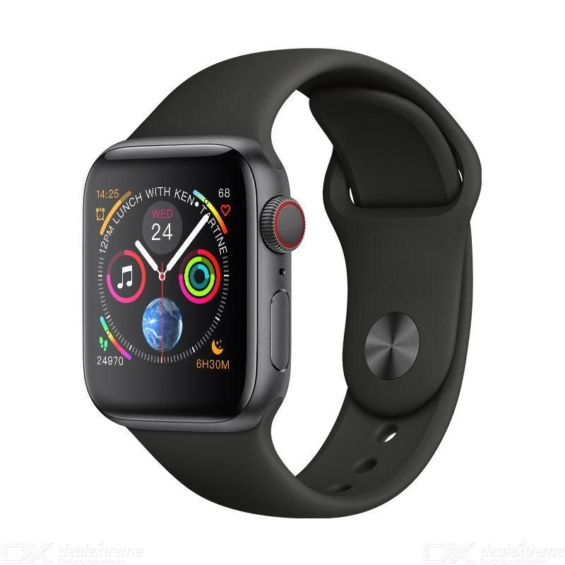 W54 Smart Watch with 1.54 Inch Voice Control Pedometer Fitness Tracker Heart Rate Tracker Fully Compatible Bluetooth Call фото