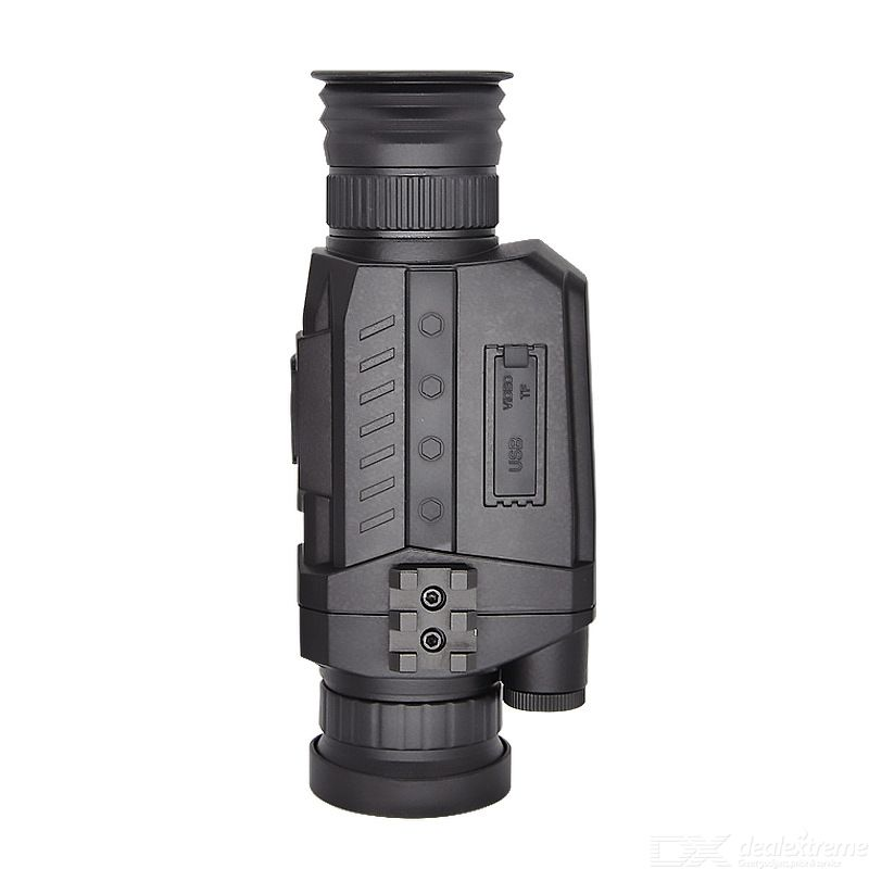 Infrared Digital Night Vision Monocular Recycle Rechargeable 130W Take Pictures 720P Video 1.54 Inch