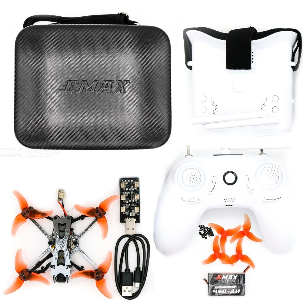 EMAX  Tinyhawk 2 Freestyle RTF FPV Drone Four-in-one Traversing Machine Remote Control Racing  Aircraft Aerial Photography Drone