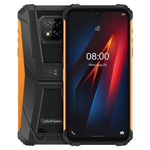 Ulefone Armor 8 Android 10 Helio P60 6.1 Inch 16MP Triple Camera NFC IP68 Rugged 4G Phone with 4GB RAM 64GB ROM - Global Version