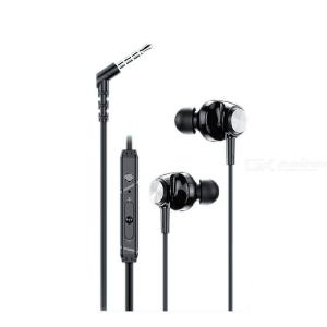 Lenovo QF310 earphone Support call Music Earbuds with Microphone 3.5mm