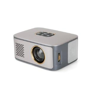 1080P Mini Projector 2.0 Inch LCD LED Home Theater Projector with HDMI USB Interfaces - EU Plug