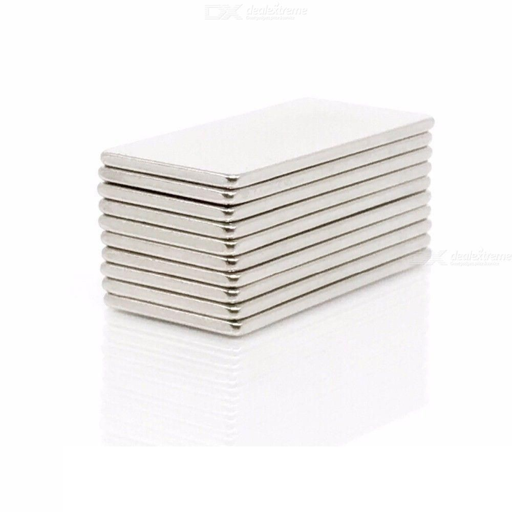 5PCS 40x20x3mm N35 NdFeB magnet DIY puzzle magnet toy multifunctional refrigerator magnet