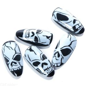 Halloween Horror Decals DIY Nail Stickers