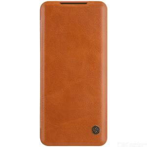 Nillkin Qin Series Leather Case For Samsung Galaxy Note 20 Plain Fitted Case Mobile Phone Protective Cover