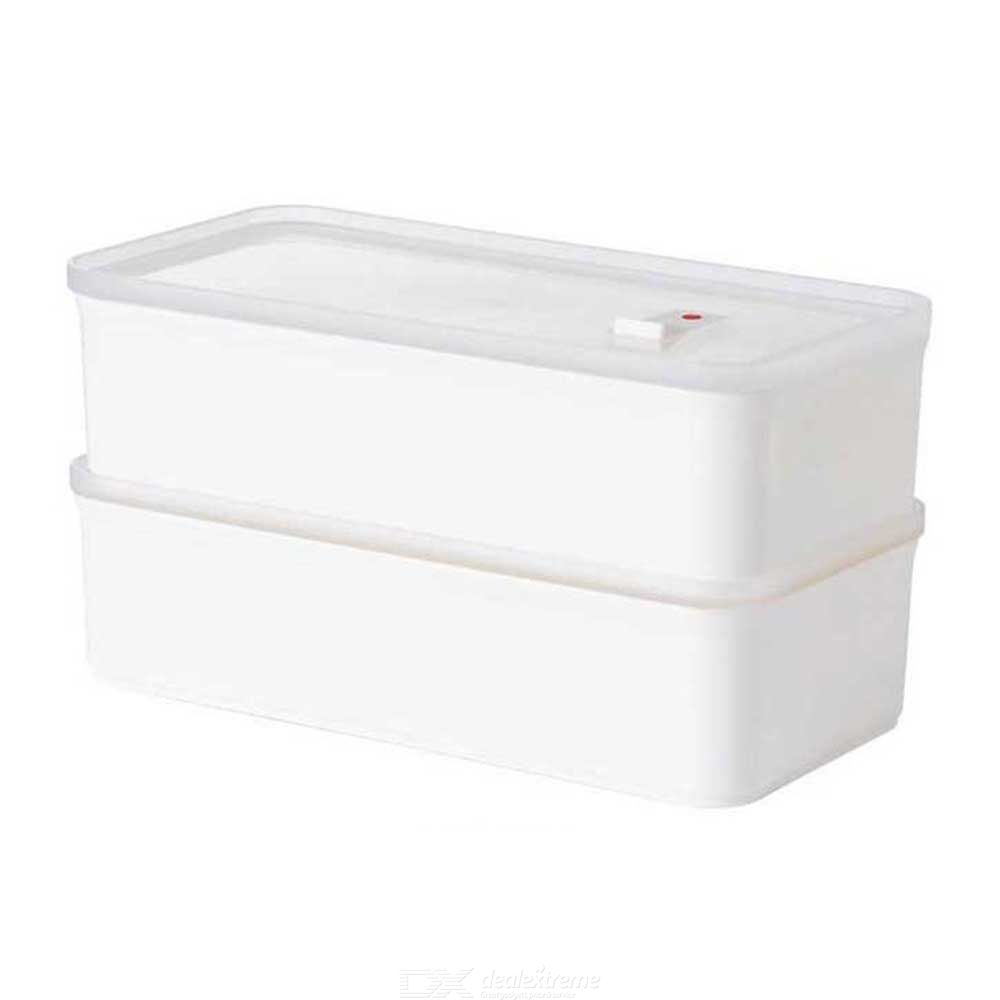 Youpin Jotun Judy Bento Box Portable Food Storage Box Rectangular Microwave And Refrigerated Food Container Lunch Box 900ml